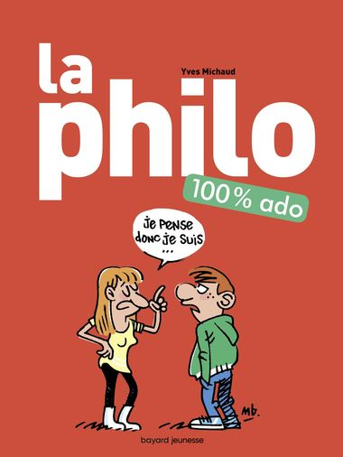 Couverture de « La philo 100 % ado »