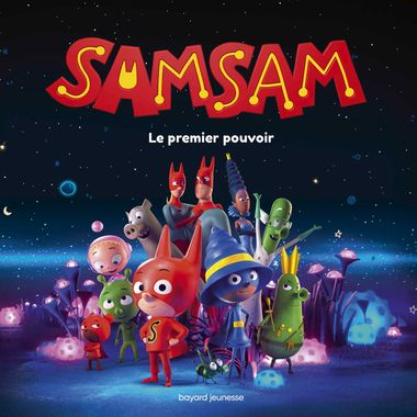 Couverture de « SamSam – L'album du film »