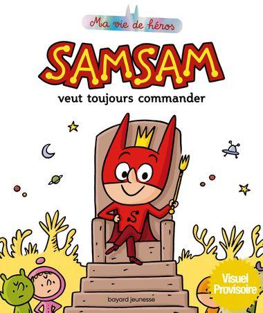 Couverture de «SamSam veut toujours commander»