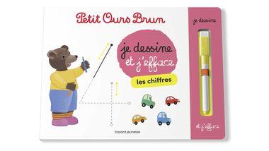Couverture de «Je dessine et j'efface les chiffres avec Petit Ours Brun»