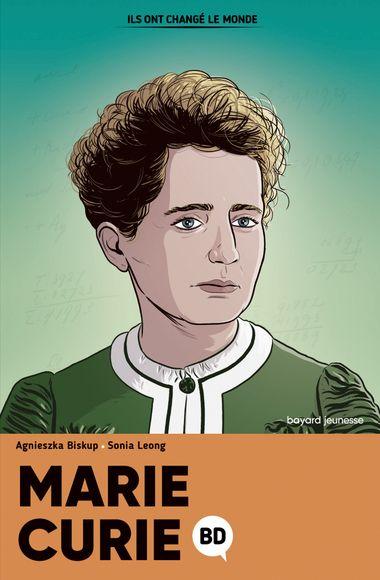 Couverture de «Marie Curie en BD»