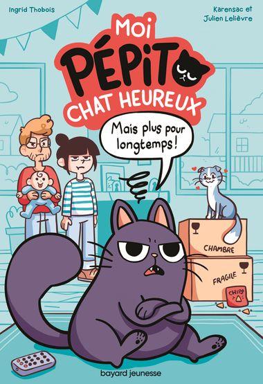 Couverture de «Moi, Pépito, chat heureux»