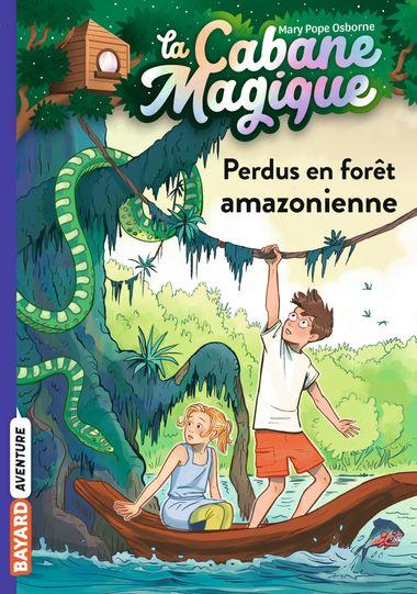 Couverture de «Perdus en forêt amazonienne»