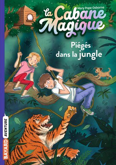 Couverture de «Piégés dans la jungle»