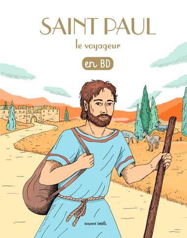 Couverture de «Saint Paul le voyageur en BD»