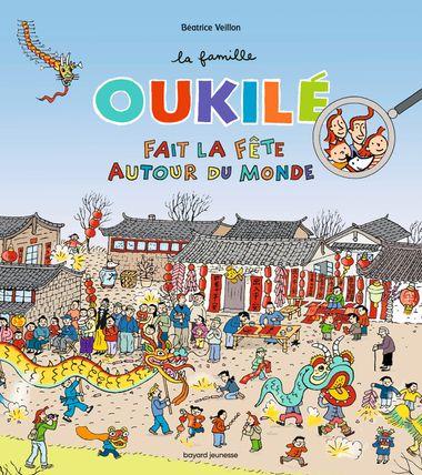 Couverture de «La famille Oukilé fait la fête autour du monde»