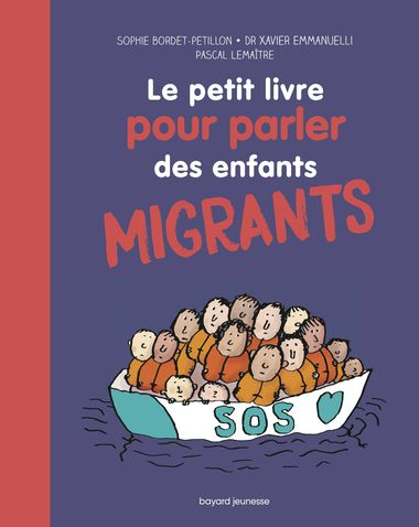 Couverture de «Le petit livre pour parler des enfants migrants»