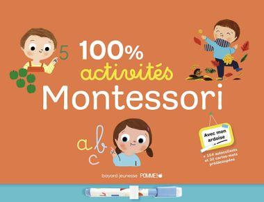 Couverture de «100% activités Montessori»