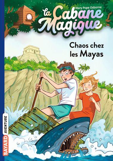 Couverture de «Chaos chez les Mayas»