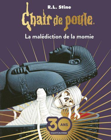 Couverture de «La malédiction de la momie Collector»