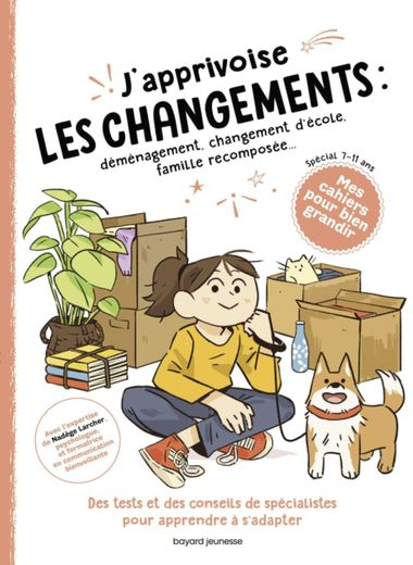 Couverture de «J'apprivoise les changements»