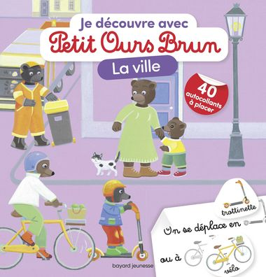 Couverture de «Je découvre la ville avec Petit Ours Brun»