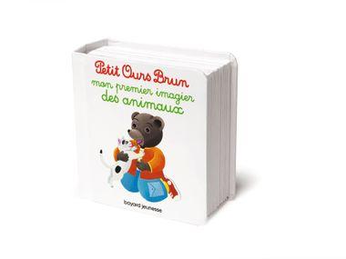Couverture de «Mon premier imagier des animaux Petit Ours Brun»