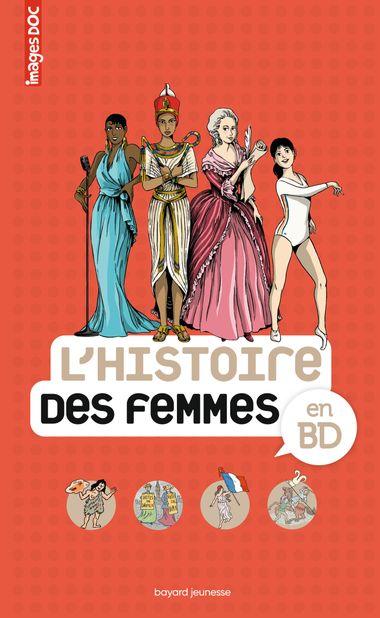 Couverture de «L'Histoire des femmes en BD»