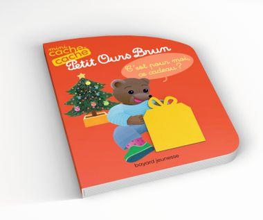Couverture de «Mini cache-cache Petit Ours Brun – C'est pour moi, ce cadeau ?»