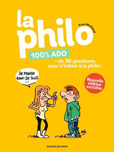 Couverture de «LA PHILO 100% ADO»