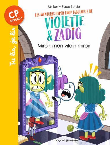 Couverture de «Miroir, mon vilain miroir»