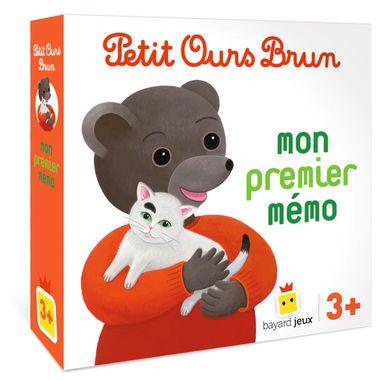 Couverture de «Jeu Petit Ours Brun – Mon premier mémo»
