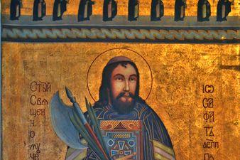 Saint Josaphat a combattu jusqu'à la mort pour être fidèle à son Dieu; il n'a pas craint les menaces des impies: il était fondé sur le roc.