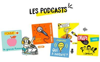 Les podcasts Bayard Jeunesse