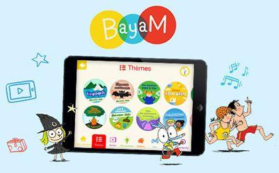 Bayam, application ludo-éducative pour les 3-10 ans